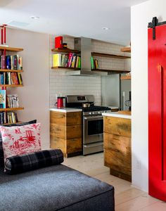 small kitch insp. - esp. shelving // via Mike D in Brooklyn - Slide Show - NYTimes.com