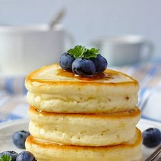 Make your pankcakes extra fluffy and sweet using this Japanese Hot Cake recipe. Easily customize your choice of toppings for the perfect breakfast treat.