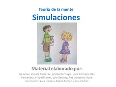 Tm simulaciones by Anabel Cornago via slideshare Autism Spectrum Disorder, Social Skills, Speech Therapy, Fails, Family Guy, Mindfulness, Blog, Speech Pathology, Children With Autism