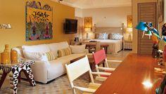El Otro Lado, Bahia de Portobelo, Colon, Panama - cheerful suite interiors