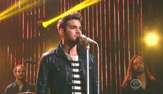 """Adam Lambert and His """"Ghost Town"""" at The Late Late Show with James Corden, July 17, 2015https://youtu.be/PHwOxqQkJ0Y"""