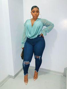 Fashionista Women in Africa ( Thick Girls Outfits, Curvy Girl Outfits, Dope Outfits, Stylish Outfits, Plus Size Outfits, Fashion Outfits, 2000s Fashion, Modest Fashion, Fashion News