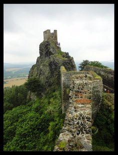 Ruins of Trosky Castle Czech Republic
