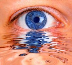 .|.   Blue eyes - have cried an ocean.