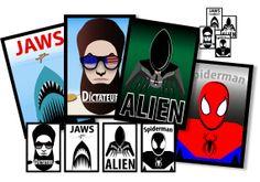 Movie posters' pictographic interpretation - Illustrator (2013) Spiderman, Illustrator, Web Design, Movies, Movie Posters, Impressionism, Spider Man, 2016 Movies, Film Poster