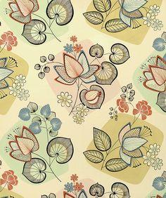 50's textile design