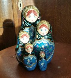 Lovely set of Russian dolls £18.50. x #vintage #retro #vintageshop #aberdeen #vintageaberdeen #Russiandolls
