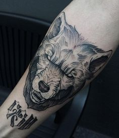 """The wolf symbol is so peculiar and contradictory that everyone interprets it in his own way. This selection is prepared to help you to find your ideal tattoo in this rich choice of designs.The wolf image is one of the most common in the world of tattoos. The word """"wolf"""" comes from the..."""