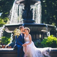 to our yesterday! Never met a I didnt like! by our Julia Congratulations to Vicky & Alex who got hitched yesterdayin Central Park with photo Bridal Looks, Bridal Make Up, Bridal Hair, Wedding Goals, Central Park, Beautiful Bride, Congratulations, Wedding Photos, Hair Makeup