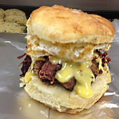 Best Biscuits in the U.: Durham, NC: Rise Biscuit and Donuts Homemade Buttermilk Biscuits, Flaky Biscuits, Biscuit Sandwich, Biscuit Donuts, Sausage Gravy, Chicken Sausage, Fried Chicken, Doughnut Shop, Good Food