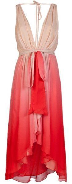 Haute Hippie Pink Ombre Dress