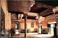 El Mexuar audience chamber, the Alhambra, Granada.