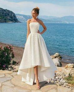 Wedding Dress Inspiration - sleeveless a-line wedding gown ,wedding dresses A Line Prom Dresses, Cheap Prom Dresses, Prom Party Dresses, Party Gowns, Bridal Dresses, Evening Dresses, Bridesmaid Dresses, Dress Party, Wedding Bridesmaids