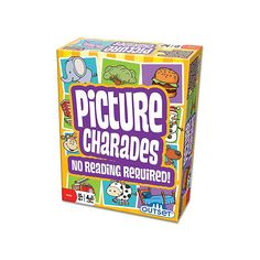 Picture Charades for Kids - No Reading Required! - An Imaginative Twist on a Classic Game Now for Young Children by Outset Media ** Visit the image link more details. (This is an affiliate link and I receive a commission for the sales) Charades For Kids, Charades Game, Kids Party Games, Games To Play, Boys Go Games, Diy Games, Free Games, Online Games For Kids, Play Online