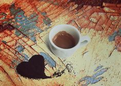 Caffè con il cuore