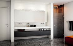 Stilrent design til badet - Seven-modellen fra HTH