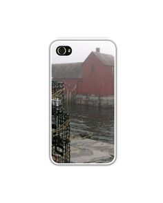 iPhone 4/4s or 5 Case/Cover MOTIF No1 ROCKPORT by LovesParisStudio, $30.00