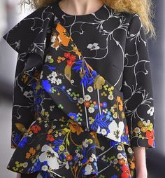 patternprints journal: PRINTS, PATTERNS, TEXTURES AND TEXTILE SURFACES FROM LONDON FASHION WEEK (WOMENSWEAR F/W 2015-16) / 10