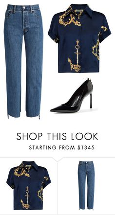 """""""nothing lasts forever"""" by mspatita ❤ liked on Polyvore featuring Natasha Zinko, Vetements and Lanvin"""