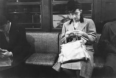 """"""" As most New Yorkers know, the subway system is the lifeline of New York City. In 1946 Stanley Kubrick set out as a staff photographer for LOOK Magazine to capture the story of New York City's subway."""