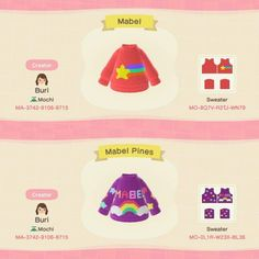 Animal Crossing Funny, Animal Crossing Guide, Animal Crossing Qr Codes Clothes, Funny Animal, Mabel Pines, Motifs Animal, All About Animals, Gravity Falls, Custom Design
