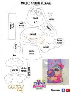 Felt Animal Patterns, Stuffed Animal Patterns, Bipper, Felt Animals, Creative Cards, Paper Piecing, Pin Collection, Kindergarten, Kawaii