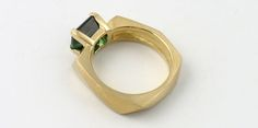 Tourmaline: the Quiet Contender for Green Engagement Rings Sleeper Hit, Green Engagement Rings, Colours, Sculpture, Jewellery, Jewels, Bracelets, Leather, Design