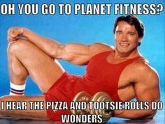 Something is. bodybuilder hookup meme trash lovers pizza