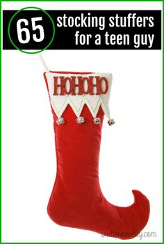 Here are plenty of stocking stuffer ideas for the teen guy on your list!