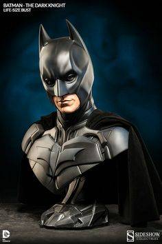 Batman: The Dark Knight Life Size Bust #batman #collectible http://www.alteregocomics.com