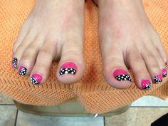 Toes Nails Design!