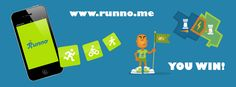"""Runno is the motivation carrot of all! It's FREE, fun and challenging.    Use our app to log your run and when you close an area, you could claim that as you """"Kingdom"""" online at our website.    Fortify with your burned calories and defend from intruders.    Gear up, take action and have FUN!!"""