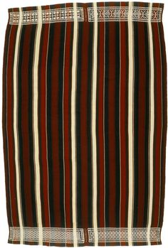 Lambabe (great cloth), Wild silk (Borocera) with natural and Analine dyes, 224.5 by 138.9 cm; southern Betsileo