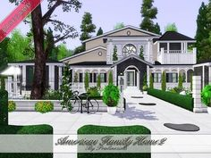 American Family Home 2 by Pralinesims - Sims 3 Downloads CC Caboodle