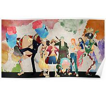 One Piece Strong World Anime Art Silk Poster Room Decoration 13x24 24x43 inches