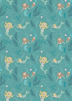 Pure cotton quilting fabric printed with colourful designs with a nautical theme. Designed by Lewis & Irene. Life Under The Sea, Halloween Fabric, Cotton Quilting Fabric, Sewing Studio, Nautical Theme, Quilting Projects, Printing On Fabric, Print Patterns, Pattern Design