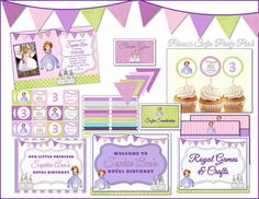Princess Sofia Party Pack - Sofia the First
