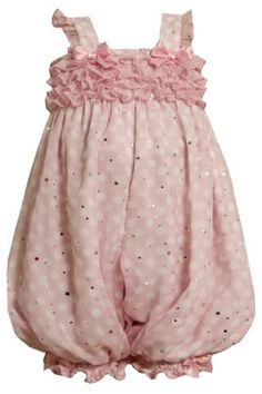 Size-3/6M, Pink, BNJ-8642R, Pink and White Dots « Clothing Impulse