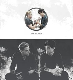 alec lightwood, shadowhunters, and jace herondale εικόνα