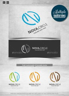 N Circle  Logo Template — Vector EPS #industry #entertainment • Available here → https://graphicriver.net/item/n-circle-logo-template/10103110?ref=pxcr