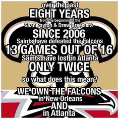 Saints vs Falcons WhoDat!!!