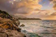 Hawaiian Ocean Shoreline Sunrise Standout by DanielleVPhotography Taken in Kauai Hawaii- Check out my shop! :)