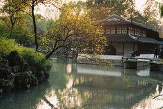 nicoyang:    拙政园 (121C/365) on Flickr.  Via Flickr: Humble Administrator's Garden @Suzhou, Jiangsu, CN Zeiss Ikon + Voigtlander Nokton 50mm f1.1 + Agfa Vista 100(film)