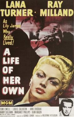 A Life of Her Own movie poster