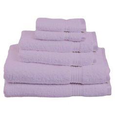 $47 6-Piece Seneca Towel Set in Light Purple at Joss & Main