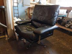 Pieff Mandarin swivel chair awaiting restoration