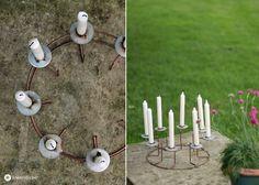 Upcycling DIY Kerzenständer