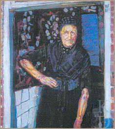 Jan Sluijters Oude Staphorster boerin, ca. 1915