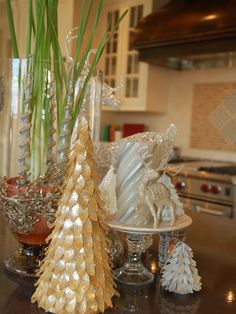 Christmas Decorations for your Concrete Countertop