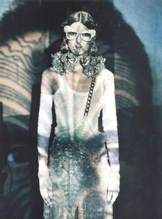 """""""A Lady in Spring"""" with Marie Piovesan by Paolo Roversi for Vogue Italia March 2012"""